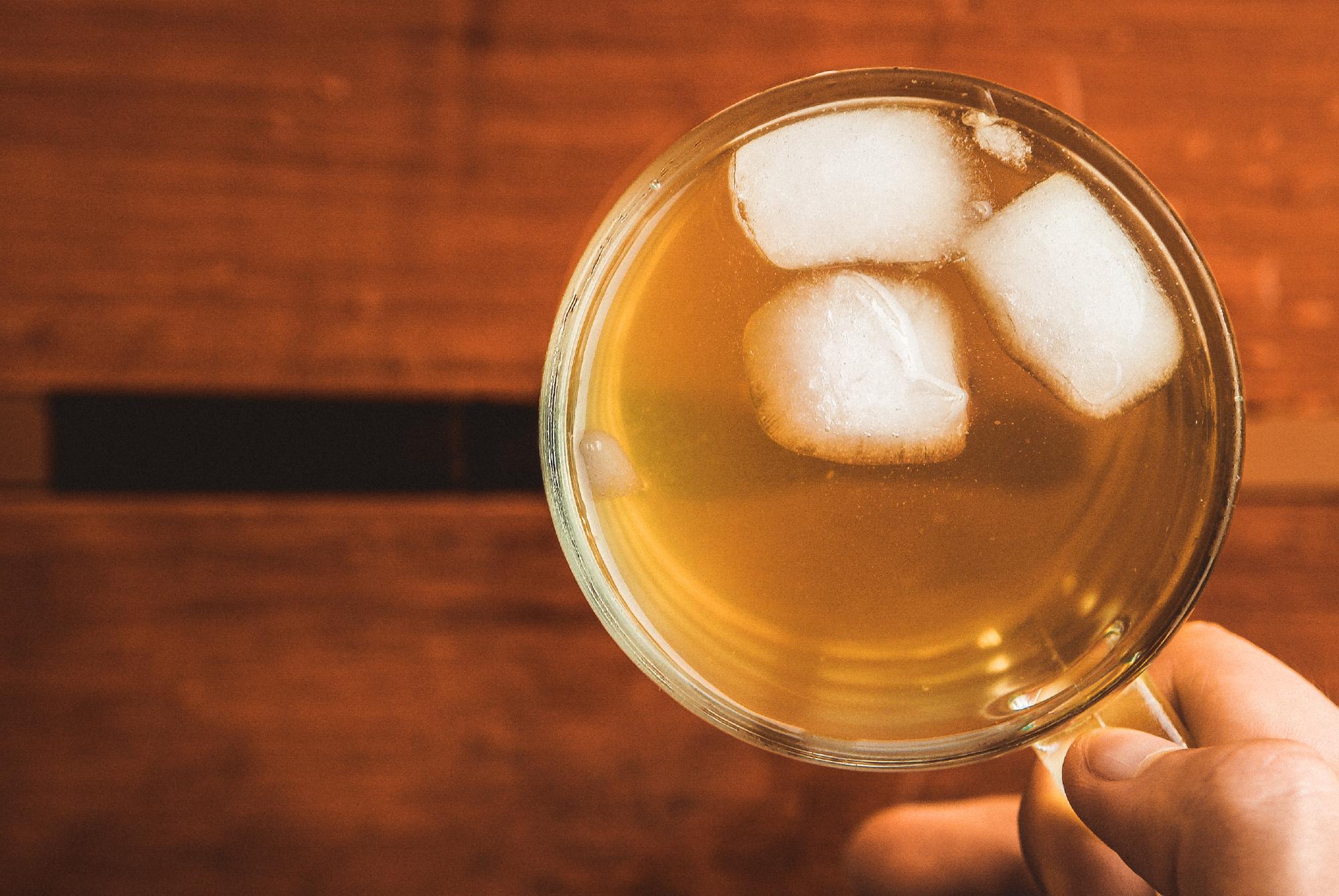 Grønn te Glass