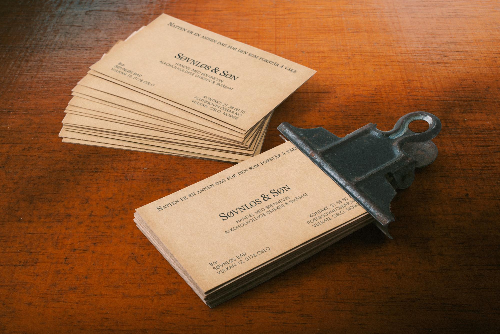 Søvnløs Cards