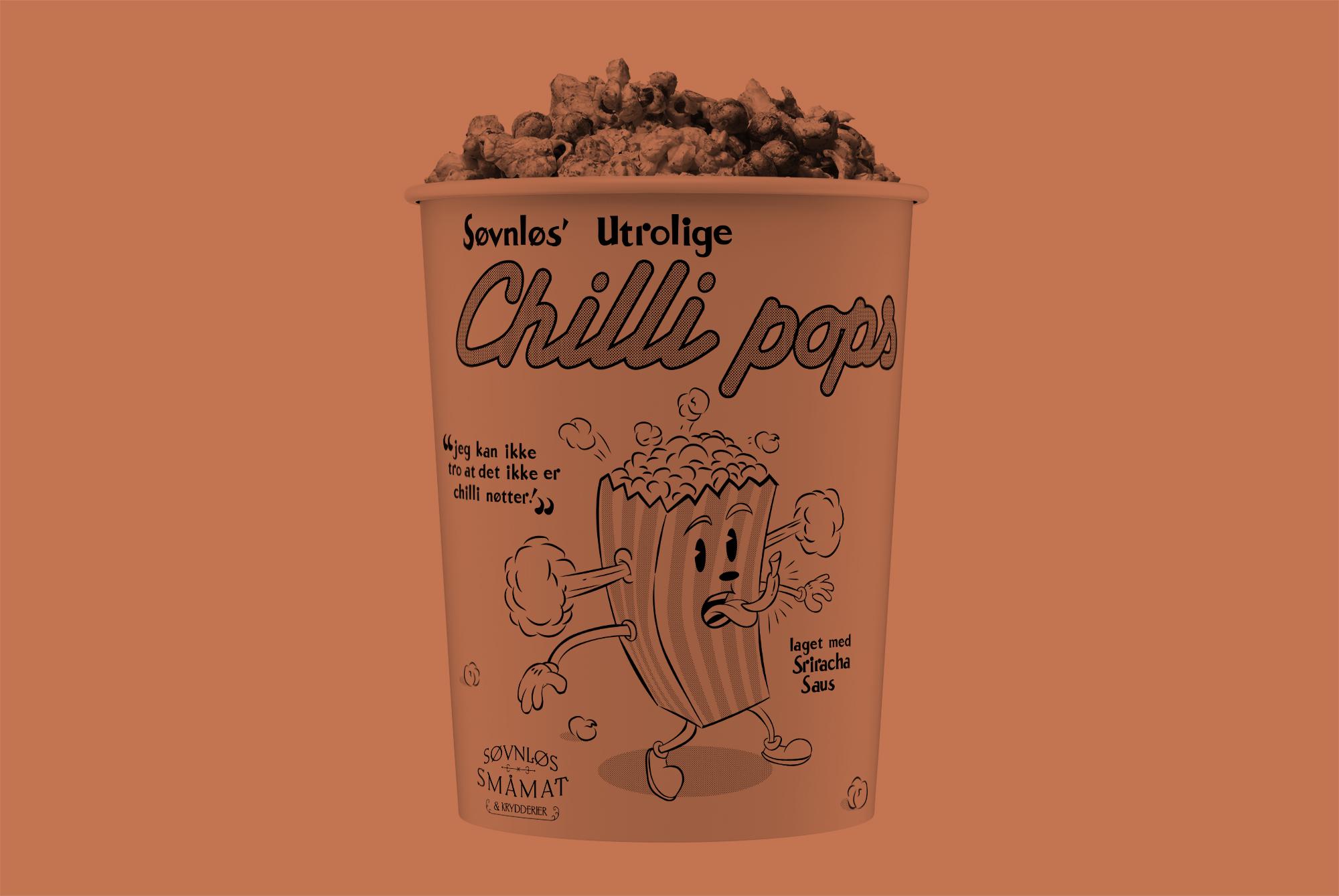 Søvnløs Chilli Pops