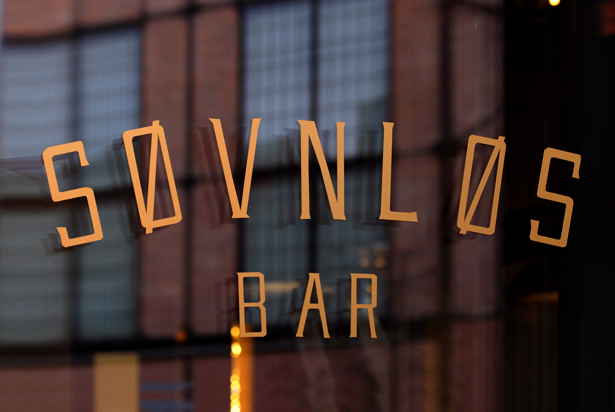 Søvnløs Bar - window logo
