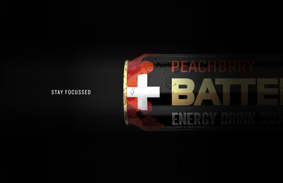 Battery peachbrry - pack shot hero