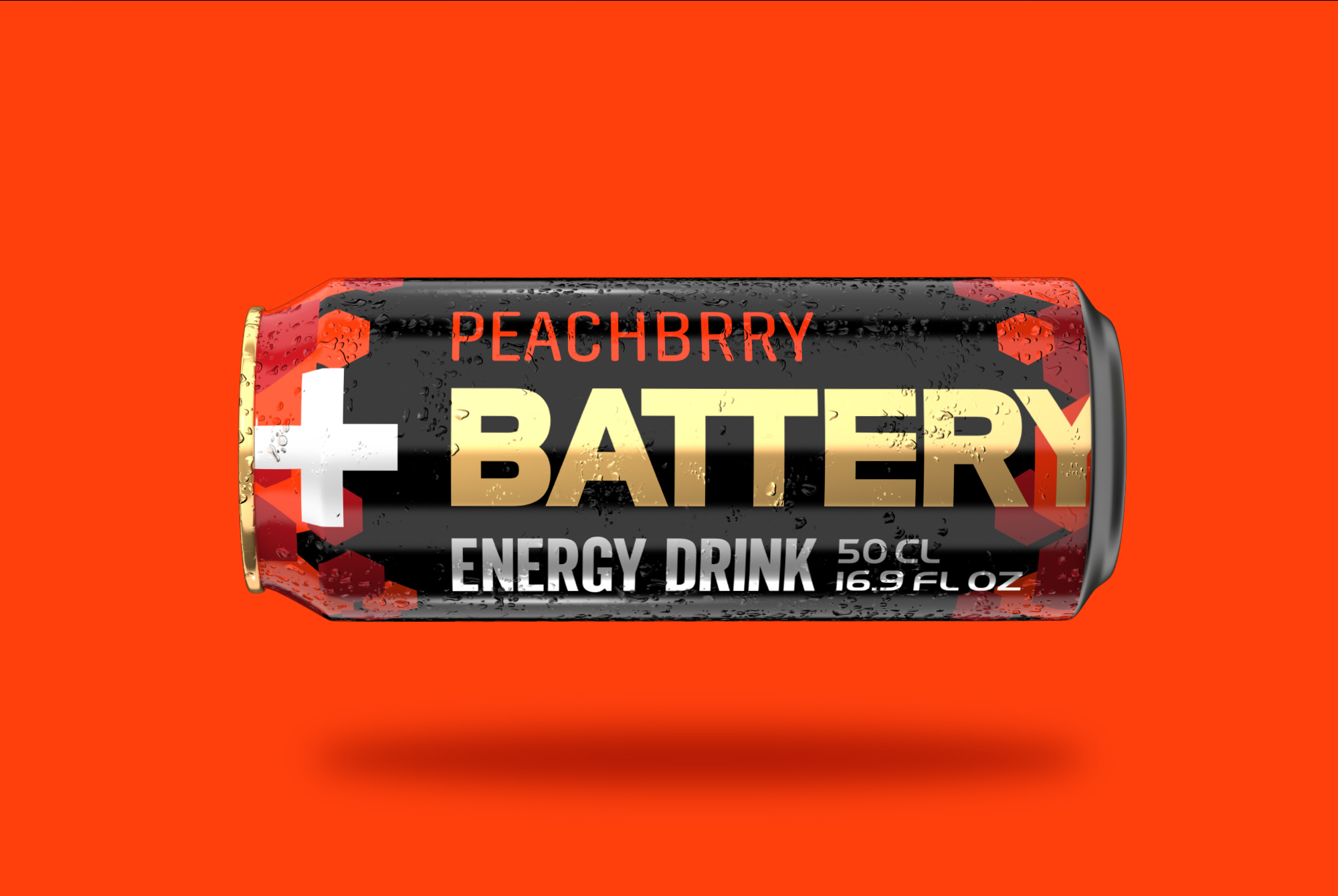 Battery peachbrry - floating can