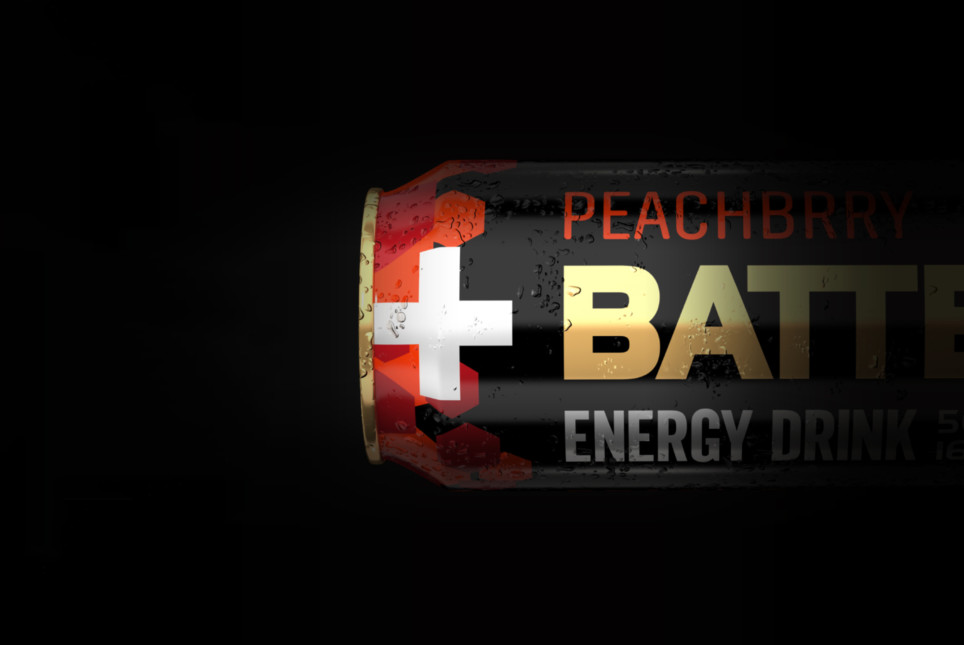 Wake up to the taste of Battery Peachbrry