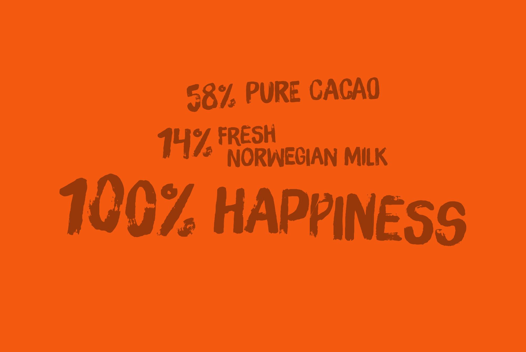 Nidar Vill - 58% Pure Cacao
