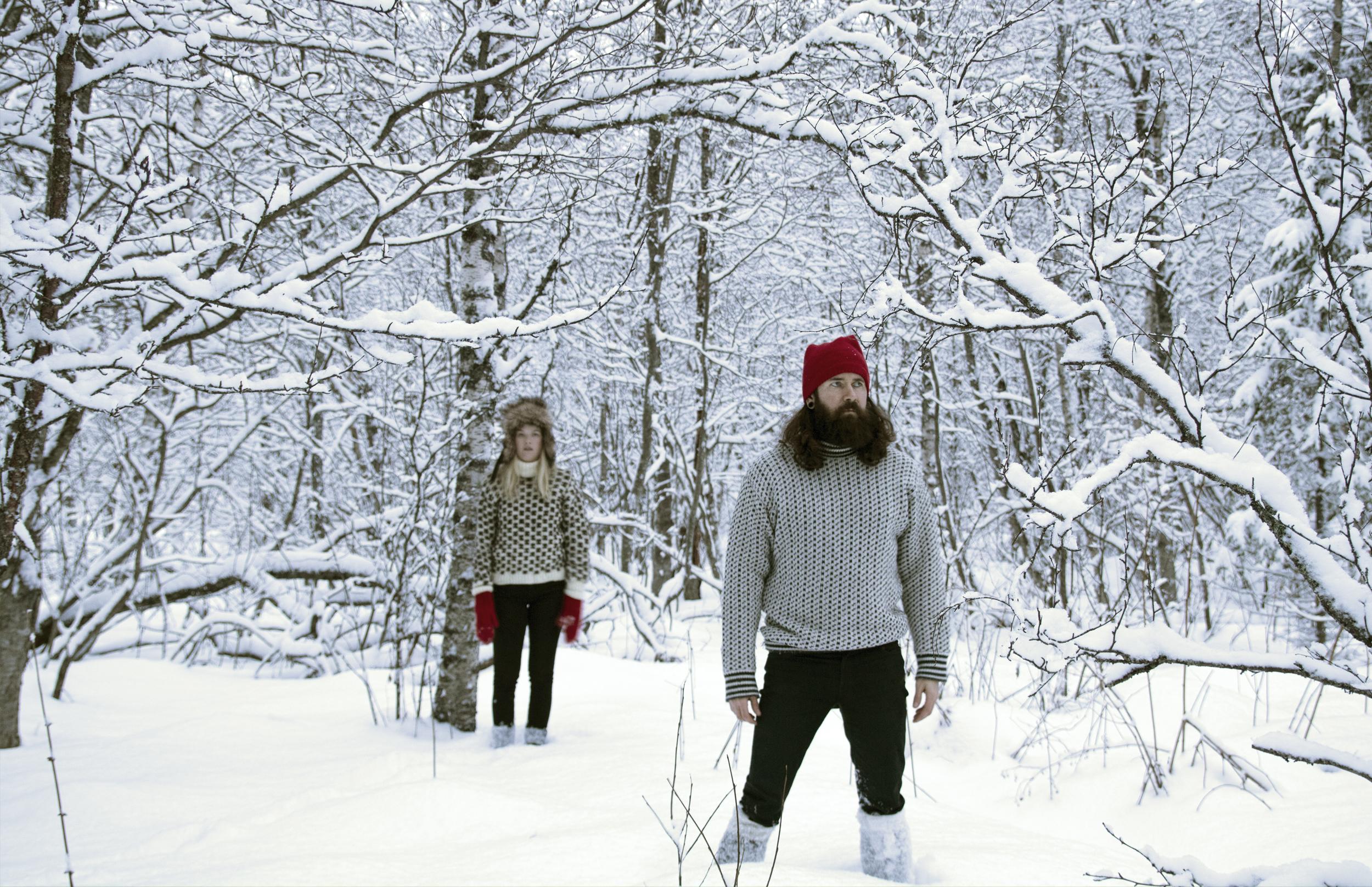 Julestemning Akevitt In Snow